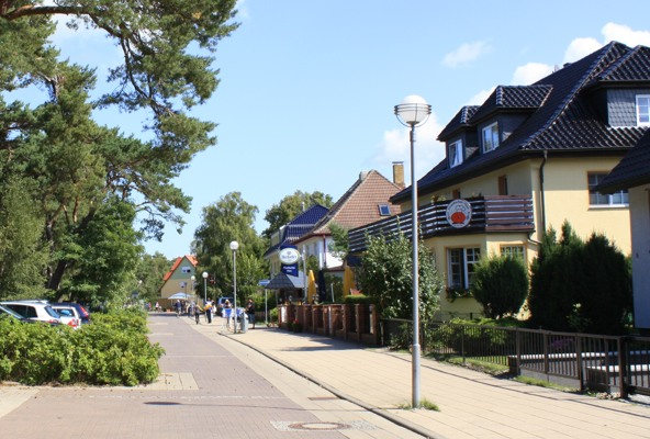 Strandpassage in Dierhagen